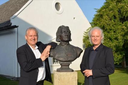 Eduard und Johannes Kutrowatz in Raiding